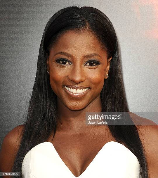 Actress Rutina Wesley attends the season 6 premiere of HBO's 'True Blood' at ArcLight Cinemas Cinerama Dome on June 11 2013 in Hollywood California