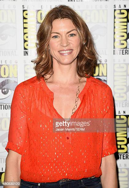 "Actress Rya Kihlstedt attends ""Heroes Reborn"" Press Room during Comic-Con International 2015 at Hilton Bayfront on July 12, 2015 in San Diego,..."