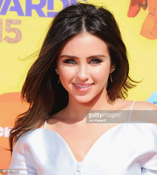 Actress Ryan Newman arrives at Nickelodeon's 28th Annual Kids' Choice Awards at The Forum on March 28 2015 in Inglewood California