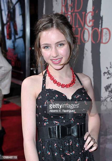 Actress Ryan Newman arrives at premiere of Warner Bros Pictures' Red Riding Hood at Grauman's Chinese Theatre on March 7 2011 in Hollywood California