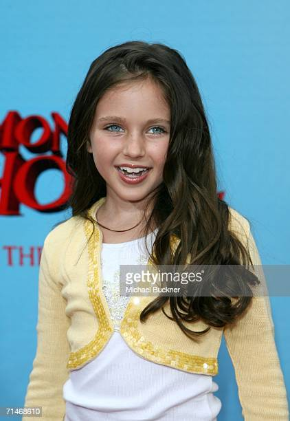 Actress Ryan Newman arrives at Sony Pictures premiere of 'Monster House' held at Mann's Village Theatre on July 17 2006 in Westwood California