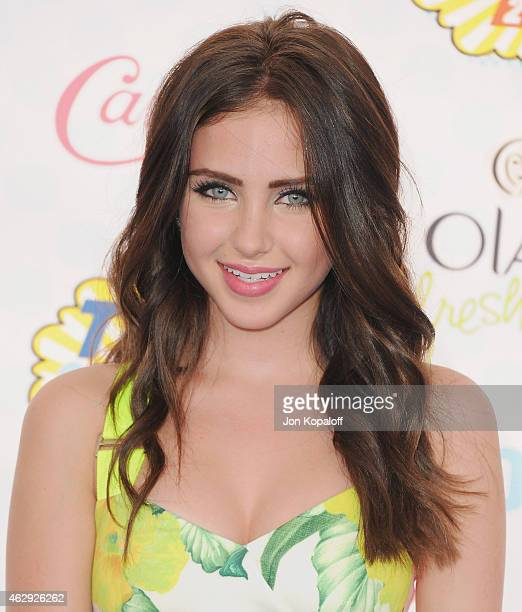 Actress Ryan Newman arrives at the 2014 Teen Choice Awards at The Shrine Auditorium on August 10 2014 in Los Angeles California