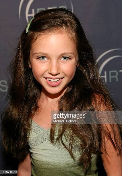 Actress Ryan Newman arrives at the Hollywood Radio Television Society Kids Day 2006 at the Hollywood and Highland complex on August 2 2006 in...