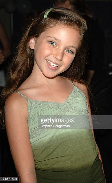 Actress Ryan Newman arrives at the Hollywood Radio Television Society 'Kids Day 2006' at the Hollywood and Highland complex on August 2 2006 in...