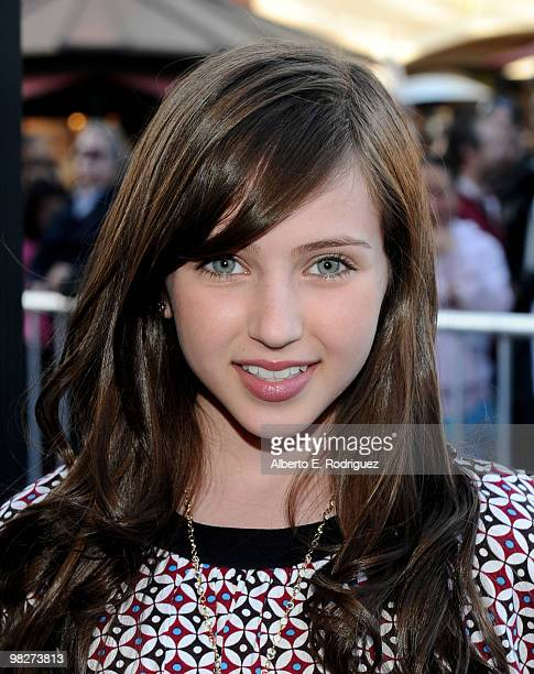 Actress Ryan Newman arrives at the premiere of IndustryWorks' The Perfect Game on April 5 2010 in Los Angeles California