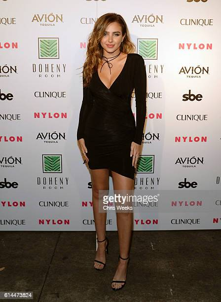 Actress Ryan Newman attends NYLON Nights Los Angeles in celebration of the October It Girl issue hosted by cover star Tinashe at Doheny Room on...