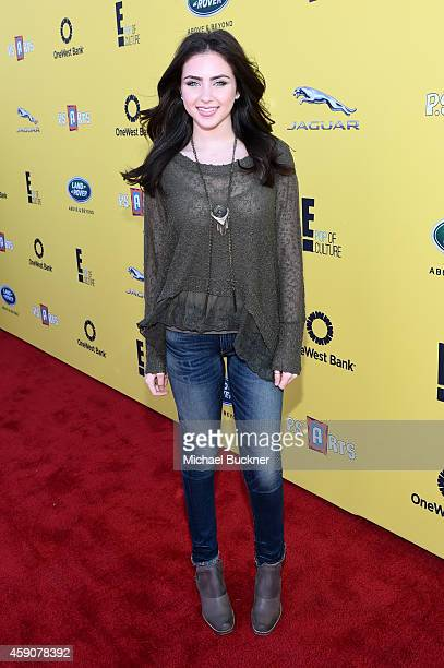 Actress Ryan Newman attends PS ARTS presents Express Yourself 2014 with sponsors OneWest Bank and Jaguar Land Rover at Barker Hangar on November 16...