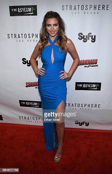 Actress Ryan Newman attends the premiere of Syfy's Sharknado The 4th Awakens at the Stratosphere Casino Hotel on July 31 2016 in Las Vegas Nevada
