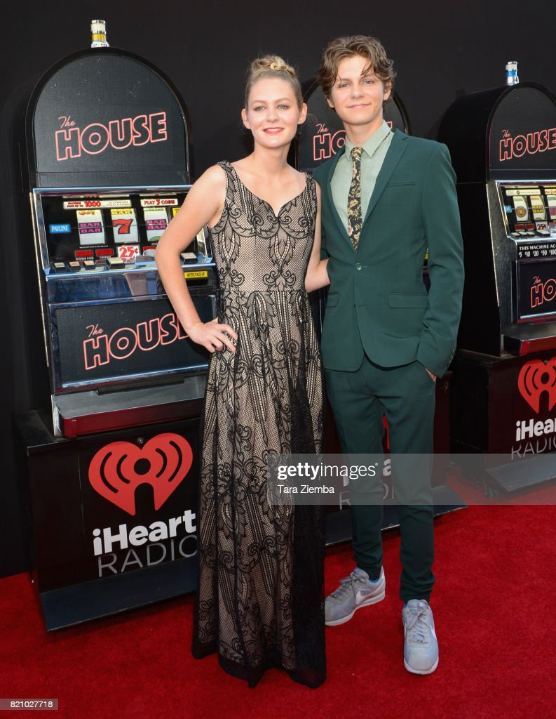 Actress Ryan Simpkins and actor Ty Simpkins attend the premiere of 'The House' at TCL Chinese Theatre on June 26, 2017 in Hollywood, California.