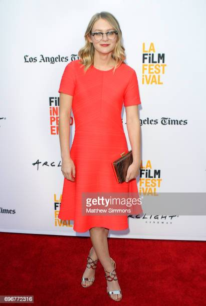 Actress Ryan Simpkins attends the 2017 Los Angeles Film Festival Gala Screening Of Sony Pictures Classic's 'Brigsby Bear' at ArcLight Hollywood on...