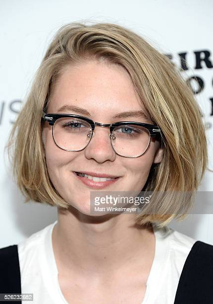 Actress Ryan Simpkins attends the first annual 'Girls To The Front' event benefiting Girls Rock Camp Foundation at Chateau Marmont on April 29 2016...