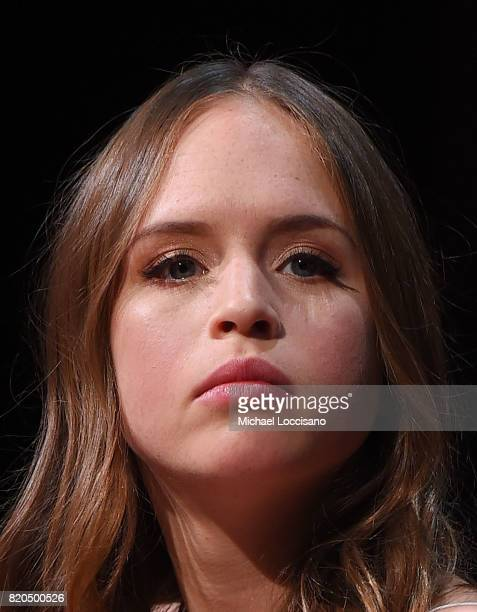 Actress Ryann Shane takes part in SAGAFTRA Foundation Conversations Story Of A Girl at SAGAFTRA Foundation Robin Williams Center on July 21 2017 in...