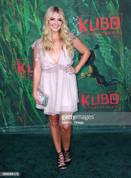Actress Rydel Lynch arrives for the Premiere Of Focus Features' 'Kubo And The Two Strings' held at AMC Universal City Walk on August 14 2016 in...