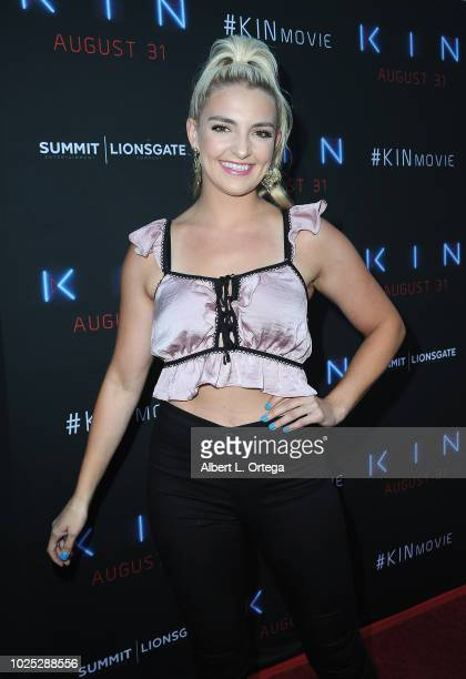 Actress Rydel Lynch arrives for the Premiere Of Summit Entertainment And Lionsgate's 'KIN' held at ArcLight Cinemas on August 29 2018 in Hollywood...