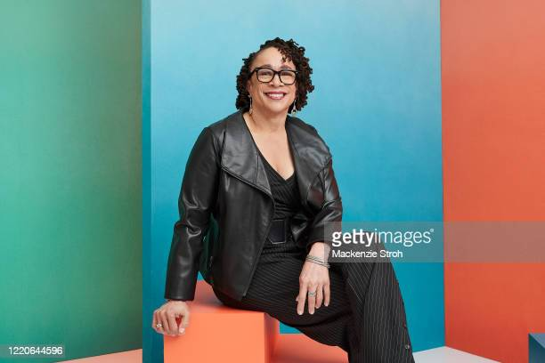 Actress S. Epatha Merkerson is photographed for Entertainment Weekly Magazine on February 27, 2020 at Savannah College of Art and Design in Savannah,...