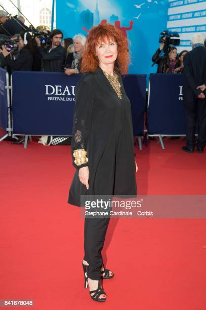 Actress Sabine Azema arrives at the Opening Ceremony of the 43rd Deauville American Film Festival on September 1, 2017 in Deauville, France.