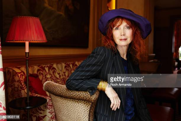 Actress Sabine Azema is photographed for Positif Magazine on May 05, 2015 in Paris, France.