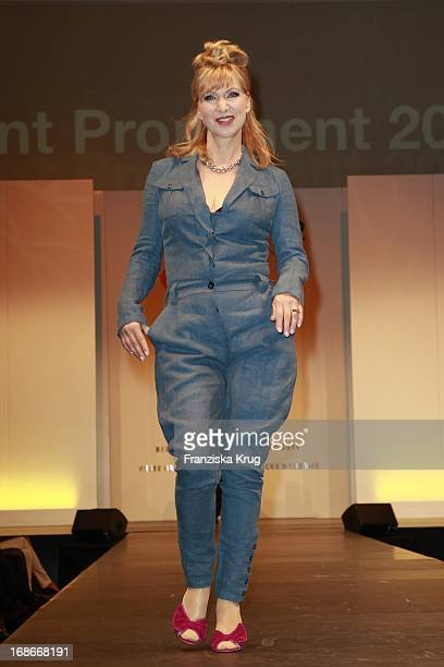Actress Sabine Kaack at The Event Prominent fashion show at the Grand Elysée in Hamburg