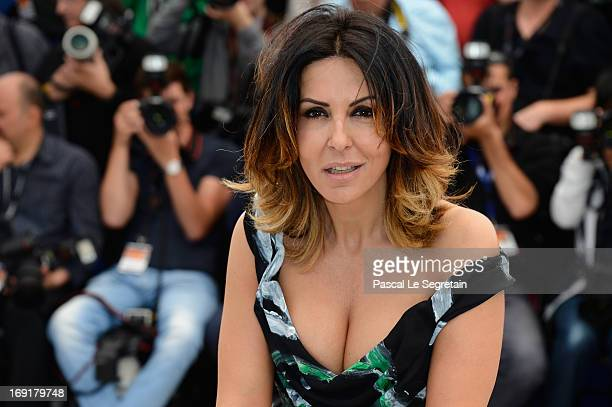 Actress Sabrina Ferilli attends the 'La Grande Bellezza' Photocall during The 66th Annual Cannes Film Festival at the Palais des Festivals on May 21,...