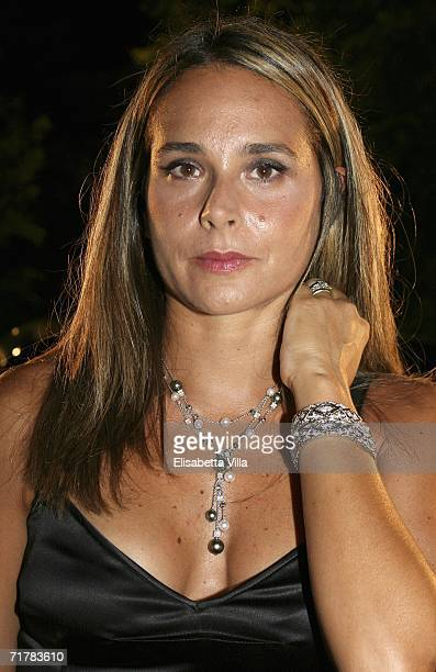Actress Sabrina Knaflitz arrives at the Lancia party during the sixth day of the 63rd Venice Film Festival on September 4 2006 in Venice Italy