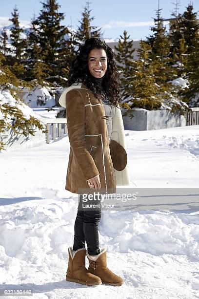 Actress Sabrina Ouazani attends L'Embarras du Choix Photocall At Hotel Chamois d'Or on January 20 2017 in Alpe d'Huez France