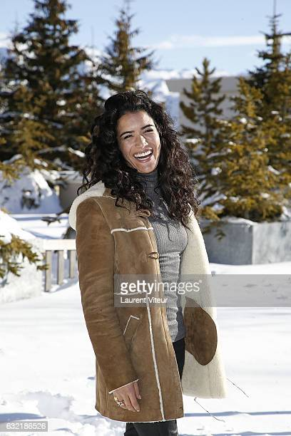 Actress Sabrina Ouazani attends 'L'Embarras du Choix' Photocall At Hotel Chamois d'Or on January 20 2017 in Alpe d'Huez France