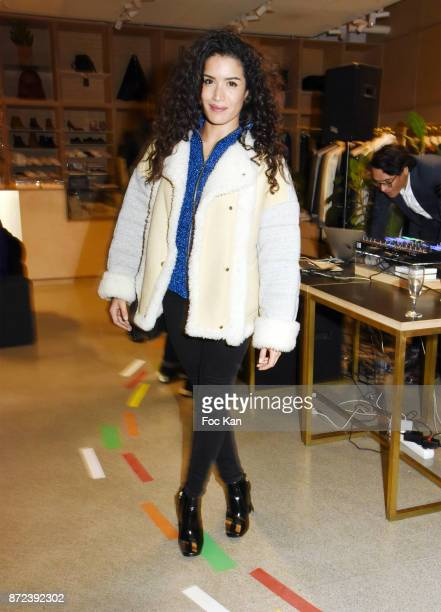 Actress Sabrina Ouazani attends Stephane Kelian Pop Up Store Launch at L'Exception on November 9 2017 in Paris France