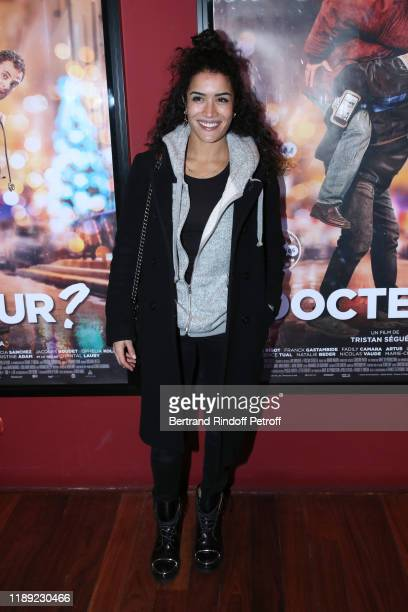 Actress Sabrina Ouazani attends the Docteur photocall at cinema Publicis on November 21 2019 in Paris France