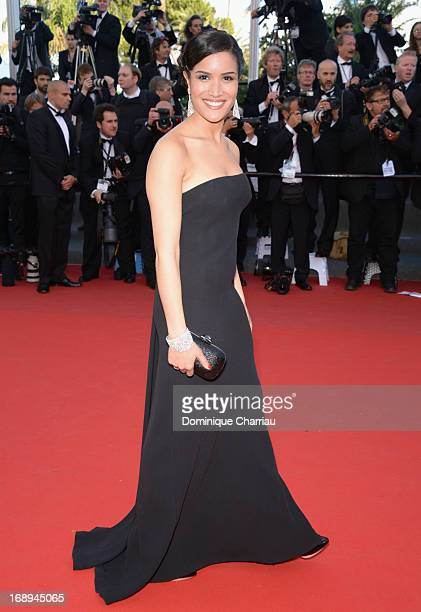 Actress Sabrina Ouazani attends the Premiere of 'Le Passe' during The 66th Annual Cannes Film Festival at Palais des Festivals on May 17 2013 in...