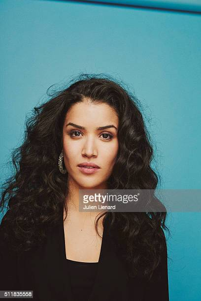 Actress Sabrina Ouazani is photographed for for Self Assignment on February 2 2016 in Paris France