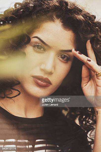 Actress Sabrina Ouazani is photographed for Self Assignment on May 12 2016 in Cannes France