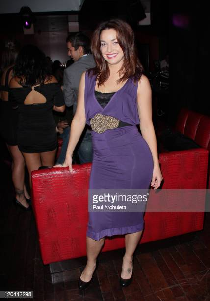 Actress Sadie Alexandru of Cinemax's 'Femme Fatales' attends the 9th Annual National Underwear Day charity event at Playhouse Hollywood on August 5...
