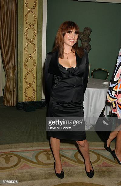 Actress Sadie Frost attends the UK FiFi Awards at The Dorchester on April 25 2005 in London England The awards mirror the International FiFi Awards...