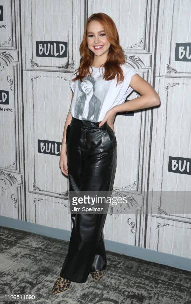 Actress Sadie Stanley attends the Build Series to discuss Kim Possible at Build Studio on January 31 2019 in New York City