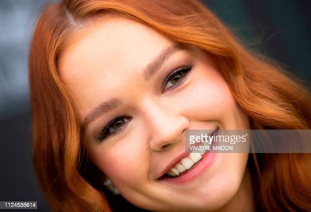Actress Sadie Stanley attends the world premiere of Disney channel original movie 'Kim Possible' in North Hollywood California on February 12 2019