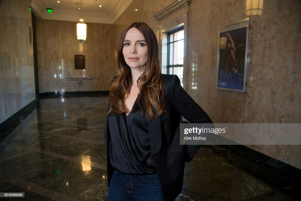 Saffron Burrows, Los Angeles Times, February 18, 2018