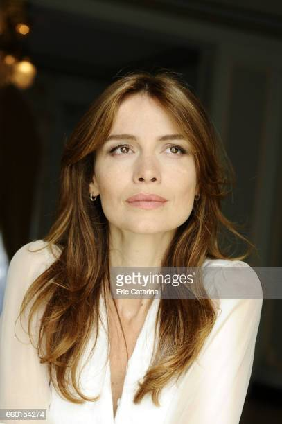 Actress Saffron Burrows is photographed for Self Assignment on September 25 2009 in San Sebastian Spain