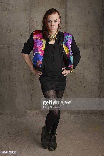 Actress Saga Becker from 'Something Must Break' poses for the Tribeca Film Festival Getty Images Studio on April 22 2014 in New York City