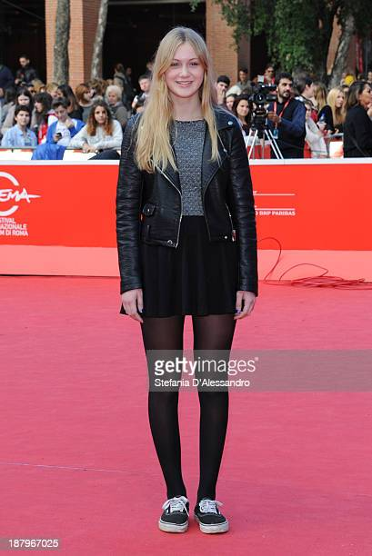 Actress Saga Samuelsson attends 'Nobody Owns me' Premiere during The 8th Rome Film Festival on November 14 2013 in Rome Italy