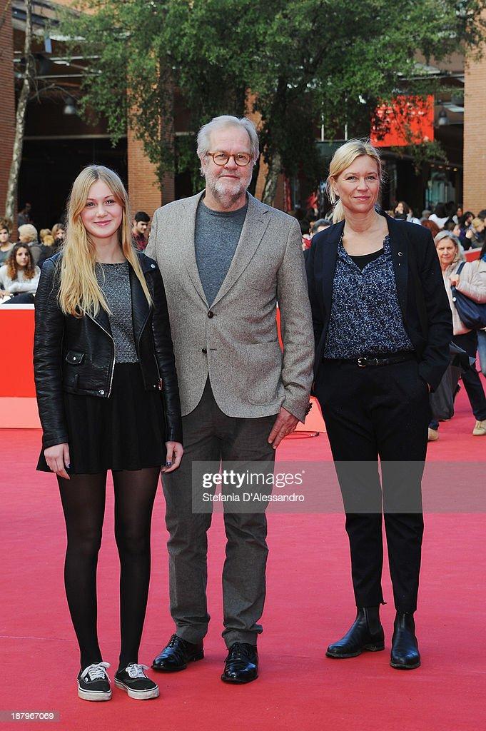 Actress Saga Samuelsson, Director Kjell-Ake Andersson and Tanja... News Photo   Getty Images