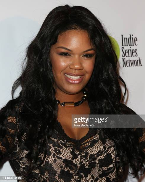 Actress Sahara Ware attends the 10th Annual Indie Series Awards at The Colony Theater on April 03 2019 in Burbank California
