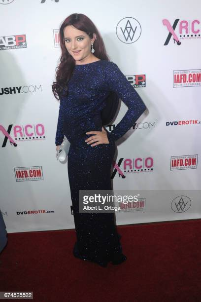 Actress Sai Sol arrives for the 33rd Annual XRCO Awards Show held at OHM Nightclub on April 27 2017 in Hollywood California
