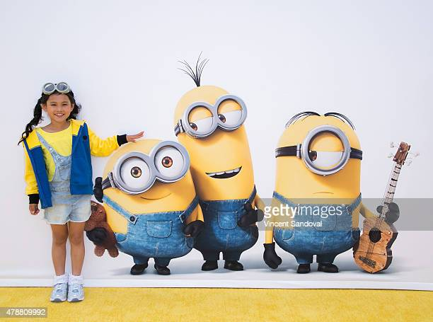 Actress Saika Fujita attends the premiere of Universal Pictures and Illumination Entertainment's 'Minions' at The Shrine Auditorium on June 27 2015...