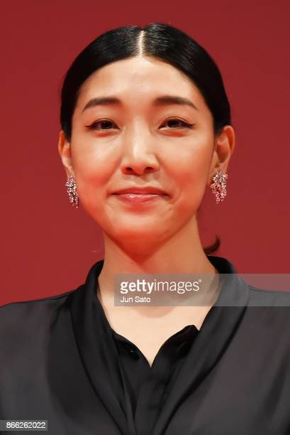Actress Sakura Ando attends the opening ceremony of the 30th Tokyo International Film Festival at Ex Theater Roppongi on October 25 2017 in Tokyo...