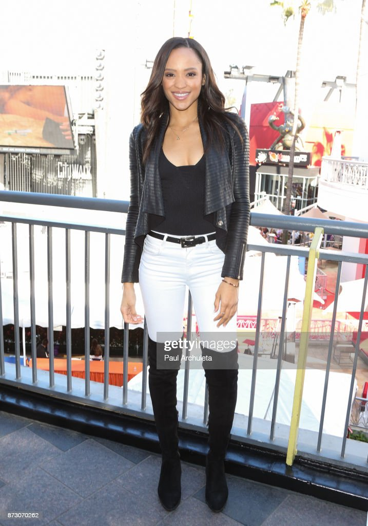 Actress Sal Stowers attends the 'Day Of Days' a very special 'Days Of Our Lives' fan event at Universal CityWalk on November 11, 2017 in Universal City, California.