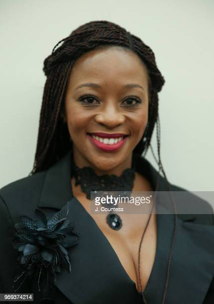 Actress Salamina Mosese attends the opening night of the 25th African Film Festival at Walter Reade Theater on May 16 2018 in New York City