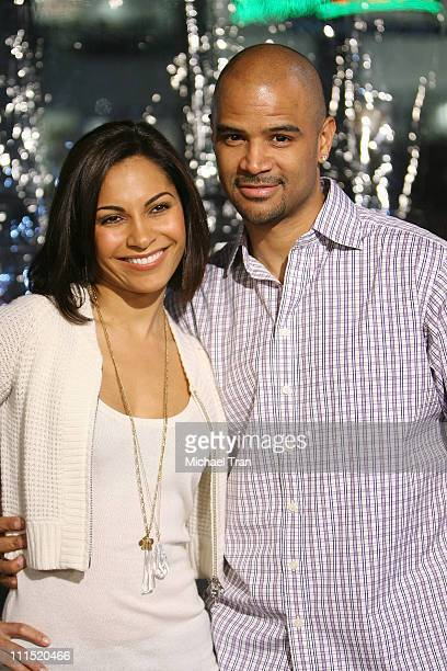 Actress Salli Richardson and husband Dondre Whitfield arrive at the Los Angeles premiere of 'Welcome Home Roscoe Jenkins' held at the Grauman's...