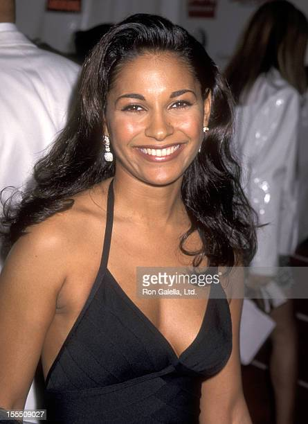 Actress Salli Richardson attends the 10th Annual Soul Train Music Awards on March 29 1996 at Shrine Auditorium in Los Angeles California