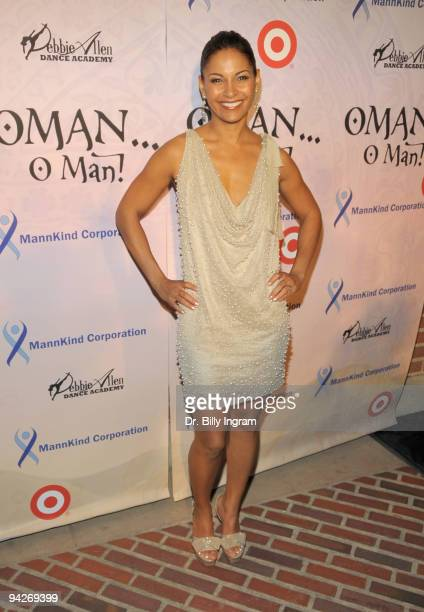 Actress Salli Richardson Whitfield arrives at Debbie Allen's ''OMAN Oh Man'' opening night gala at the Royce Hall at UCLA on December 10 2009 in...