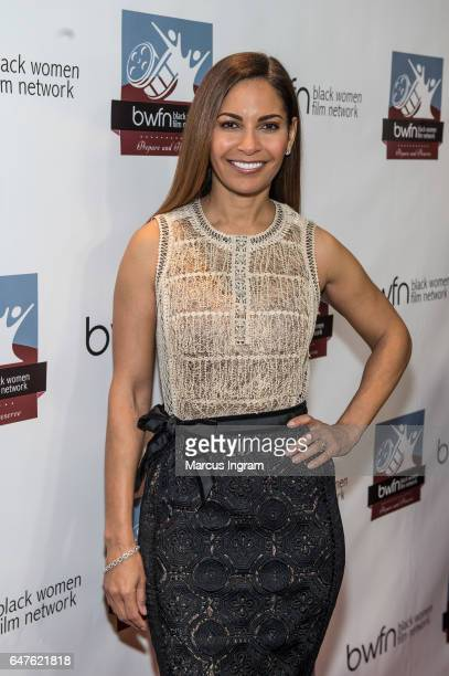 Actress Salli Richardson Whitfield attends the 2017 Black Women Film Summit Untold Stories awards luncheon at Atlanta Marriott Marquis on March 3...